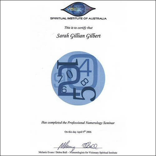Numerology & Palmistry Qualifications The Visionary Spiritual Institute Of Australia