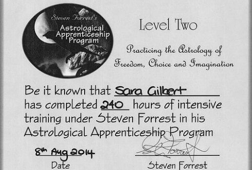 Astrology Qualifications Steven Forrest Astrological Apprenticeship