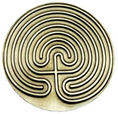 Mythical Cretan Labyrinth