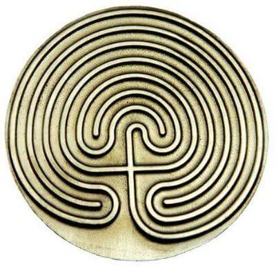 Mythical Cretan Labyrinth