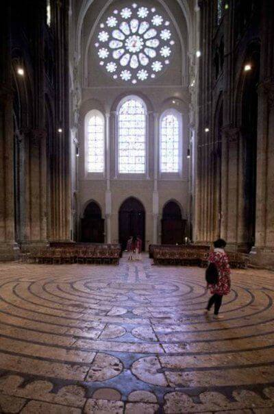Chartres Rose Window Labyrinth