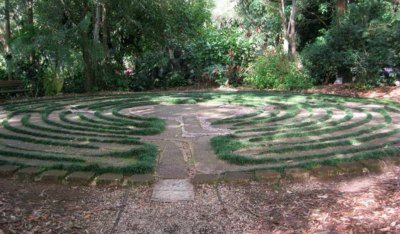 labyrinth crystal castle mullumbimby