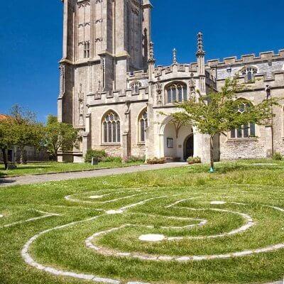 labyrinth st johns glastonbury