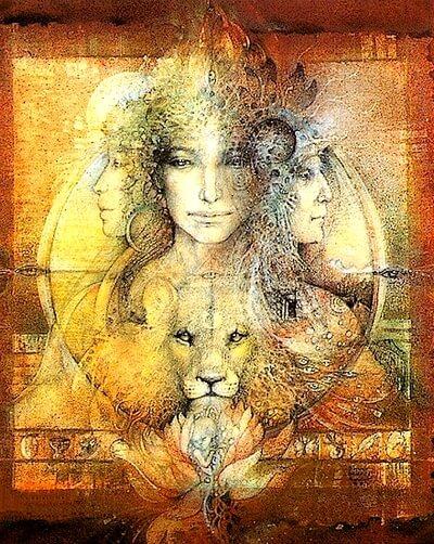 Leo Triple Goddess Boulet