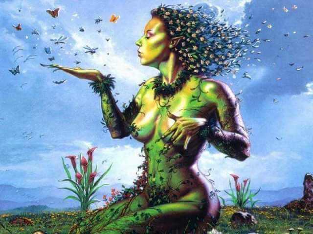 Virgo Gaea Mother Earth