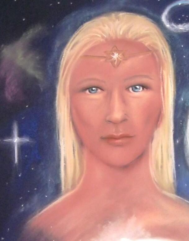Asteria Goddess of Magic and the stars