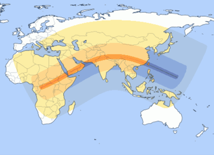 Solstice Eclipse Path
